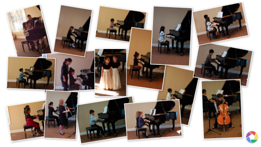 Student Recital 2011 Collage