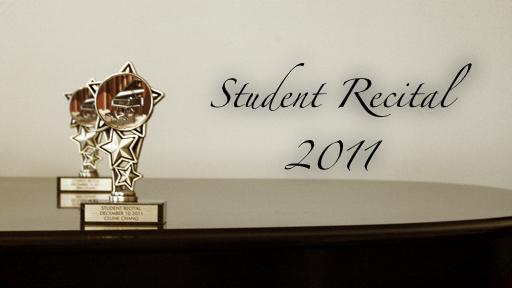 Student Recital 2011